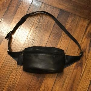 Leather Coach Fanny Pack